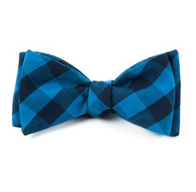 Lionel Plaid Blues Bow Ties