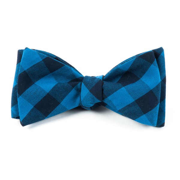 Blues Lionel Plaid Bow Tie