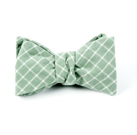 Spring Mint Dominion Plaid bow ties