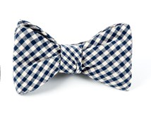 Bow Ties - FALL GINGHAM - NAVY