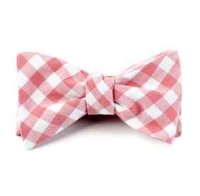 Strawberry Fall Colorful Plaid bow ties