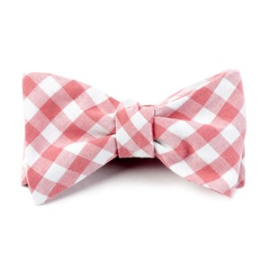 fall colorful plaid strawberry bow ties