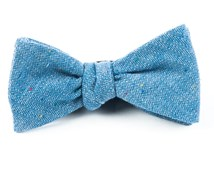 BOW TIES - JAUNTY SOLID - BLUE