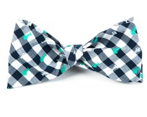 Bow Ties - SWIMMER GINGHAM - GREEN
