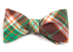 Bow Ties - VICE PLAID - Chocolate Brown
