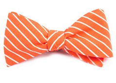 BOW TIES - MONTGOMERY STRIPE - MELON