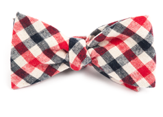 Bow Ties - SALOON PLAID - RED