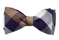 Bow Ties - Courtside Check - Blue