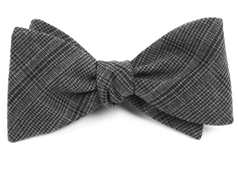 Bow Ties - Central Glen Plaid - CHARCOAL