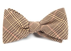 BOW TIES - AGENT PLAID - BROWNS