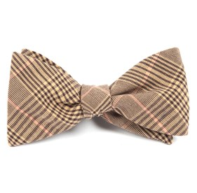 Browns Agent Plaid bow ties