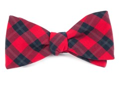 Bow Ties - STREETWISE CHECK - RED