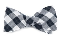 Bow Ties - STREETWISE CHECK - BLACK