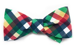 BOW TIES - ACOUSTIC CHECK - GREEN