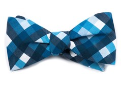 BOW TIES - ACOUSTIC CHECK - BLUE
