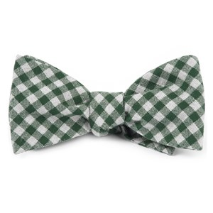 stein checks green bow ties