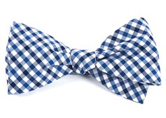 Bow Ties - Fair-and-square Gingham - Navy