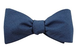 BOW TIES - SOLID PATROL - NAVY