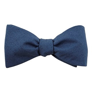 solid patrol navy bow ties