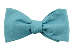 BOW TIES - SOLID PATROL - WASHED TEAL