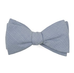 Light Blue Speedway Solid bow ties