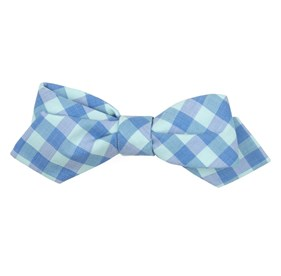 Spearmint Old City Checks bow ties