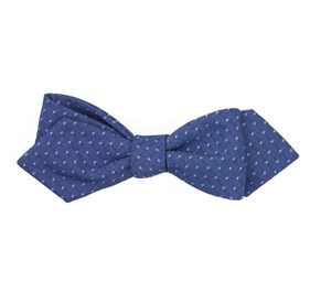Navy District Dots bow ties