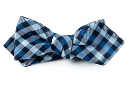 Bow Ties - PREPSTER PLAID - Blues