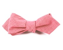 Bow Ties - Classic Chambray - Red
