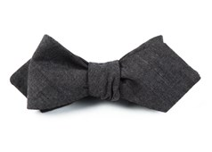 Bow Ties - Classic Chambray - Warm Grey