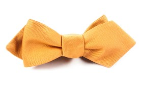 BOW TIES - GROSGRAIN SOLID - CANTALOUPE