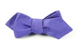 BOW TIES - GROSGRAIN SOLID - VIOLET