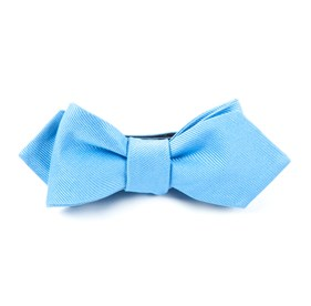 Carolina Blue Grosgrain Solid bow ties