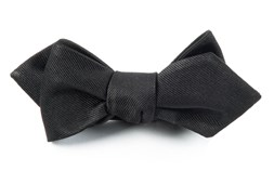 BOW TIES - GROSGRAIN SOLID - BLACK