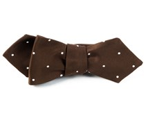 Bow Ties - SATIN DOT - CHOCOLATE