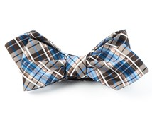 Bow Ties - VISION PLAID - BROWN