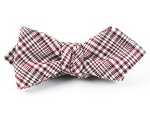 Bow Ties - TWILIGHT PLAID - RED