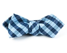 Bow Ties - PROFILE PLAID - SKY BLUE