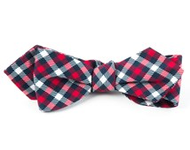 Bow Ties - WASHINGTON PLAID - NAVY