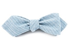 Bow Ties - COTTON ALLOTROPE - MATTE SERENE BLUE