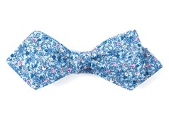 Bow Ties - Floral Buzz - Sky Blue