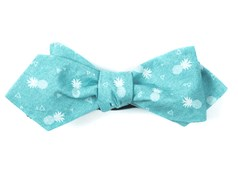 Bow Ties - Pineapple Toss - Aqua