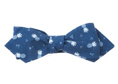 Bow Ties - Pineapple Toss - Navy