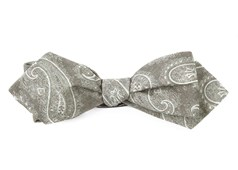 Bow Ties - Planetary Paisley - Olive