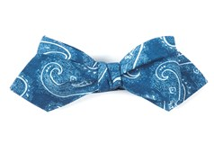 Bow Ties - Planetary Paisley - Royal Blue