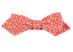 Bow Ties - Atomic Dots - Apple Red