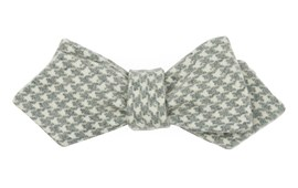 Bow Ties - Hanover Houndstooth - Hunter Green
