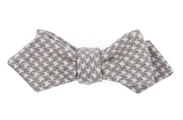 Bow Ties - Hanover Houndstooth - Eggplant