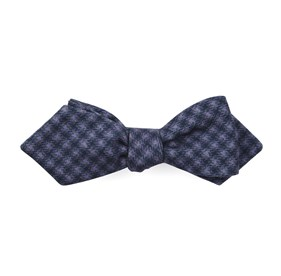Brookline Street Houndstooth Wisteria Bow Ties