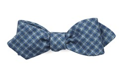 Bow Ties - Brookline Street Houndstooth - Classic Blue